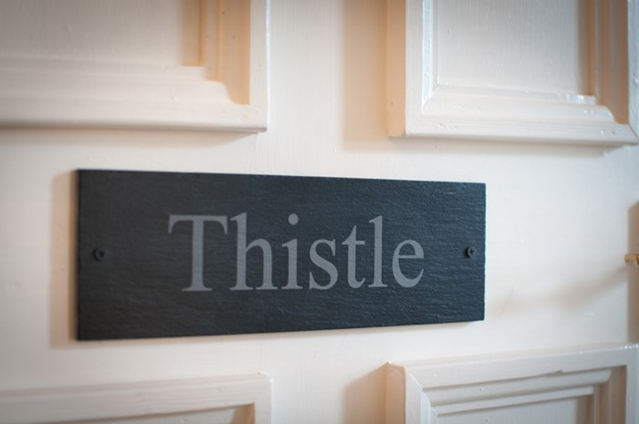 Thistle bed and breakfast room